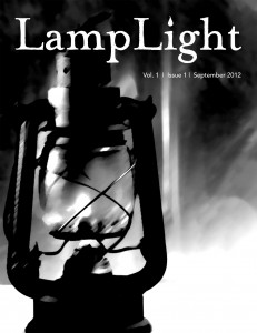 cover for Issue 1 of LampLight
