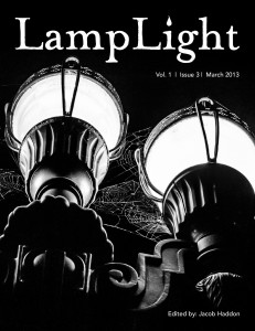 cover for V1I3 of Lamplight